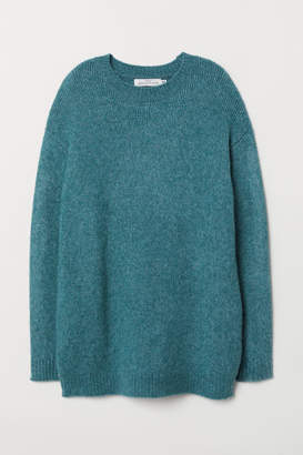 H&M Long Sweater - Turquoise