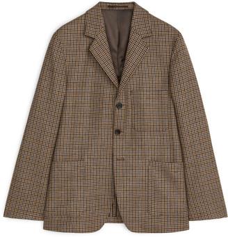 Arket Casual Blazer Tweed