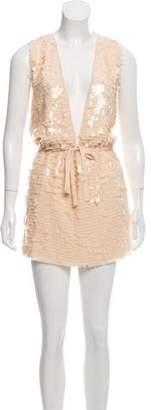 Reiss Swinton Sequined Dress