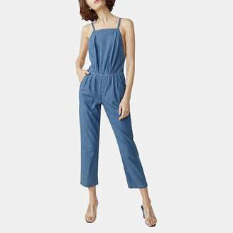 3x1 Twist Crisscross Open Back Jumpsuit