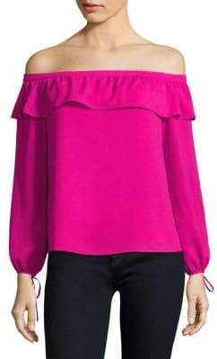 Cooper & Ella Leticia Off-The-Shoulder Blouse