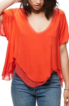 Women's Free People Cookie Tee $68 thestylecure.com