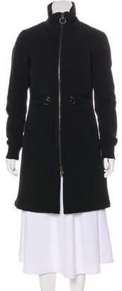 Prada Tailored Knee-Length Coat