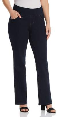 Jag Jeans Plus Paley Bootcut Jeans in Indigo