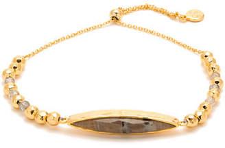 Gorjana Palisades Adjustable Beaded Marquise Bracelet