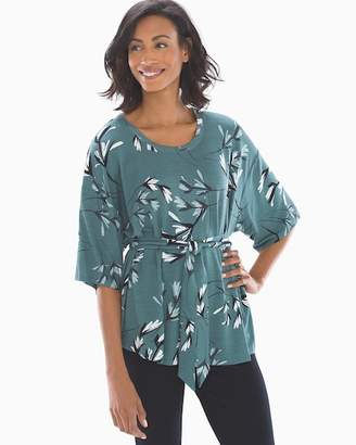 French Terry Kimono Sleeve Top