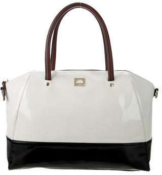 Kate Spade New York Tricolor Patent Leather Satchel $145 thestylecure.com