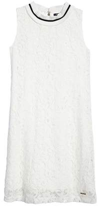 Marciano Sleeveless Lace Dress (Big Girls)