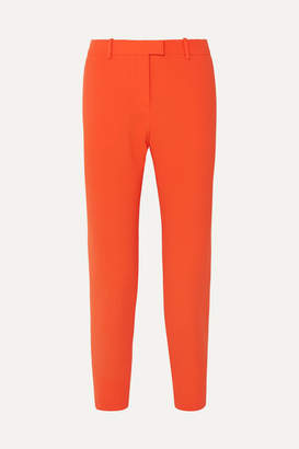 Altuzarra Henri Cropped Cady Slim-leg Pants - Orange