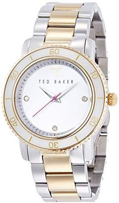 Ted Baker Women's TE4090 Smart Casual Three-Hand Two-Tone Stainless Steel Watch