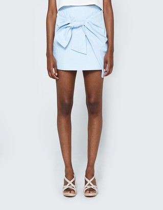 Tie Front Skirt $62 thestylecure.com