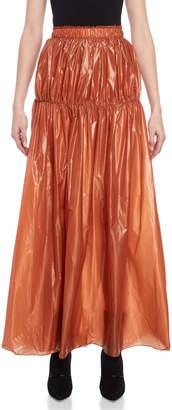 Ellery Isolation Gathered Yoke Maxi Skirt