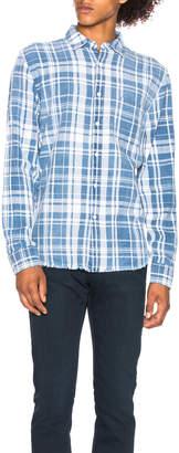 Frame Plaid Shirt