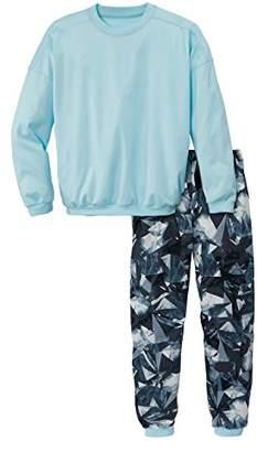 Calida Girl's Casual Ladies Pyjama Sets, (Cascade Blue 545)