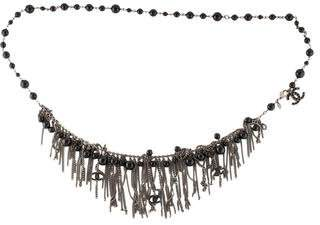 Chanel Resin Bead Chain Belt