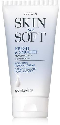 Skin So Soft Fresh & Smooth Moisturizing Body Hair Removal Cream