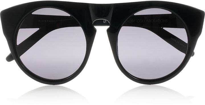 Alexander Wang Round-frame acetate sunglasses