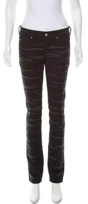 Isabel Marant Mid-Rise Embroidered Jeans w/ Tags