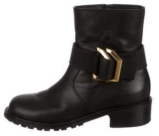 Giuseppe Zanotti Round-Toe Ankle Boots