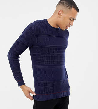 Ted Baker T for Tall sweater in chunky cable knit with hem detail
