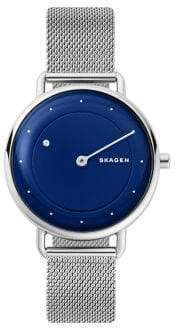 Skagen Horisont Special-Edition Stainless Steel Diamond Mesh Bracelet Watch