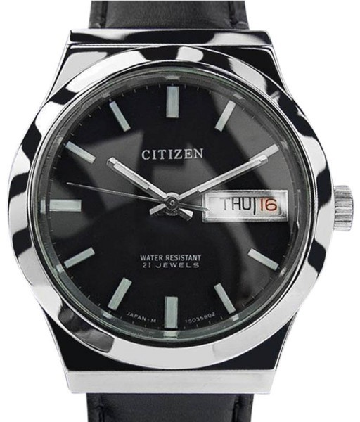 CitizenCitizen 21 Jewels Day Date Automatic Made In Japan Vintage Mens Watch 1970