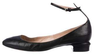 Valentino Patent Leather Tan-Go Flats