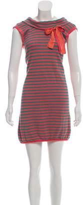 Manoush Striped Mini Dress