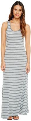 Alternative - Eco Jersey Yarn-Dye Stripe Double Scoop Tank Dress Women's Dress $78 thestylecure.com