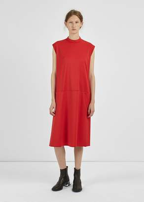 MM6 MAISON MARGIELA Suit Wool Twill Dress Red