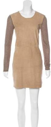 Rebecca Taylor Sued Long Sleeve Dress w/ Tags