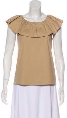 Prada Sleeveless Woven Top