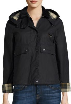 Barbour Spey Wax Jacket $499 thestylecure.com