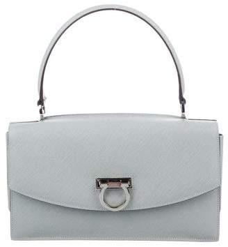 9a93ac5ee65 Salvatore Ferragamo Leather Top Handle Bag