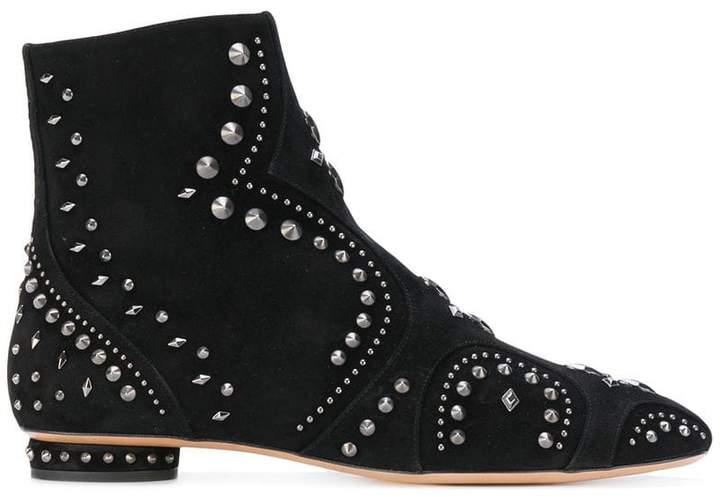Valentino Garavani studded ankle boots