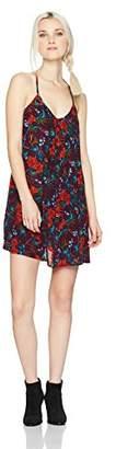 Volcom Junior's Womens' Mix A Lot Allover Print Cami Dress,M
