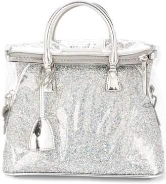 Maison Margiela glitter embellished crossbody bag