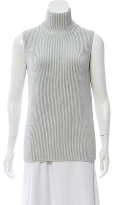 Hermes Turtleneck Knit Top
