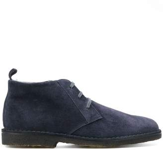 Corneliani lace up mid-top brogues