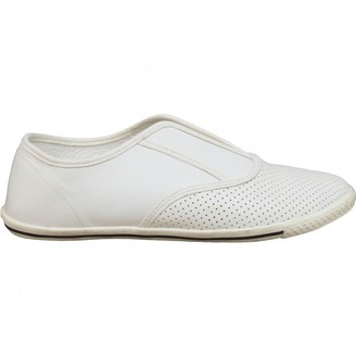 Marc by Marc Jacobs White Leather Trainers