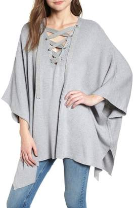 Bishop + Young BISHOP AND YOUNG Harper Lace-Up Poncho
