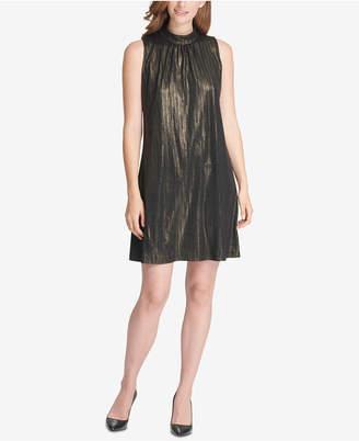 Tommy Hilfiger High-Neck Trapeze Dress