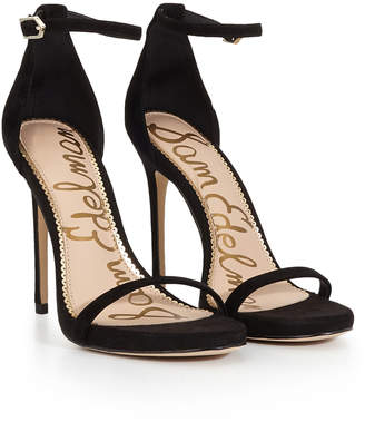 8c76b3ea5ccea9 Sam Edelman Suede Straps Sandals For Women - ShopStyle UK