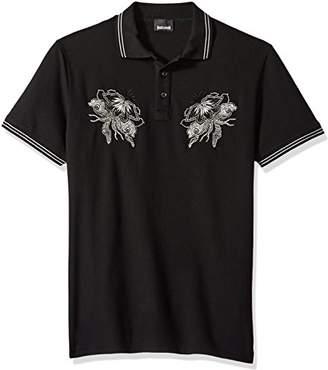 Just Cavalli Men's Graphic Polo Shirt