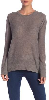 Inhabit Crew Neck Long Sleeve Cashmere Sweater