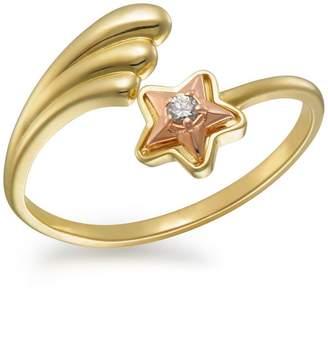 Fine Jewellery 10K Gold Shooting Star Ring
