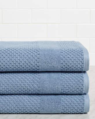Chortex Honeycomb Set Of 3 Bath Towels