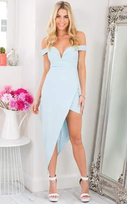 Showpo Sweetest Love Dress in Light Blue