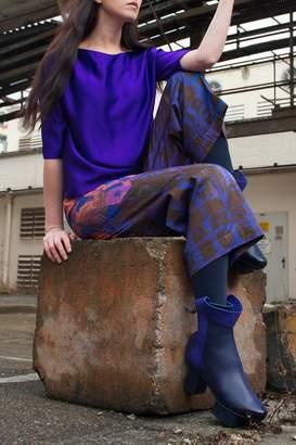 Clara Kaesdorf Elegant Blouse Purple