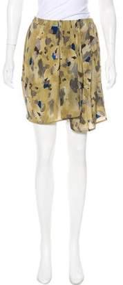 Christian Wijnants Silk Mini Skirt